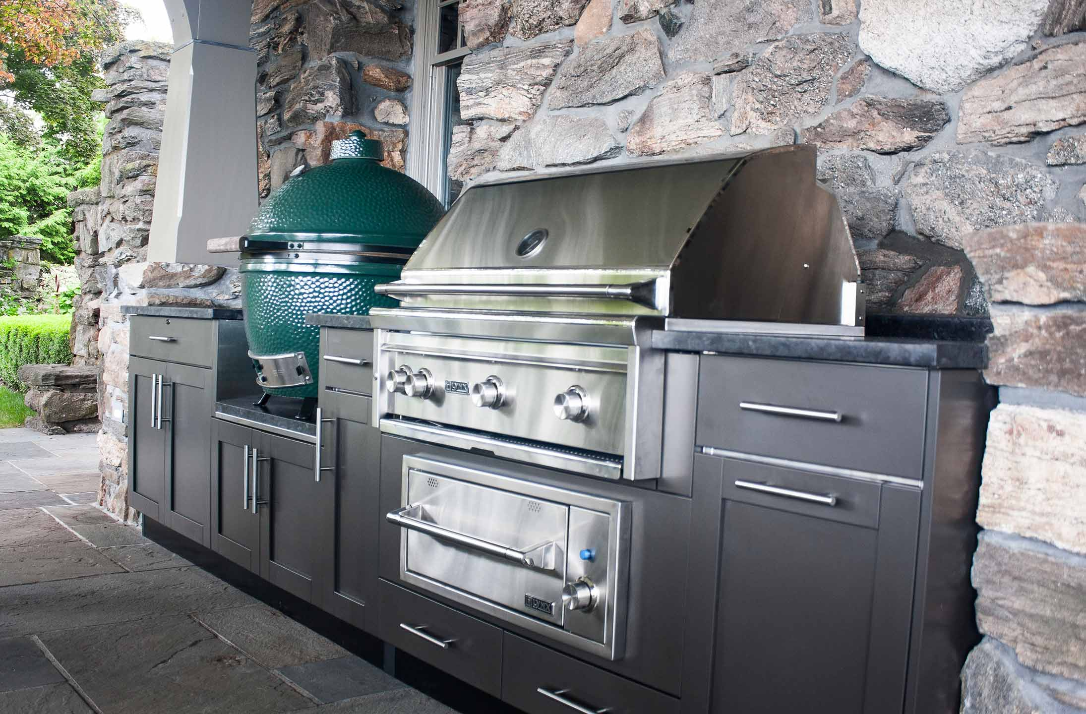joan bigg design outdoor kitchen designer kitchen with danver stainless steel cabinets westchester ny