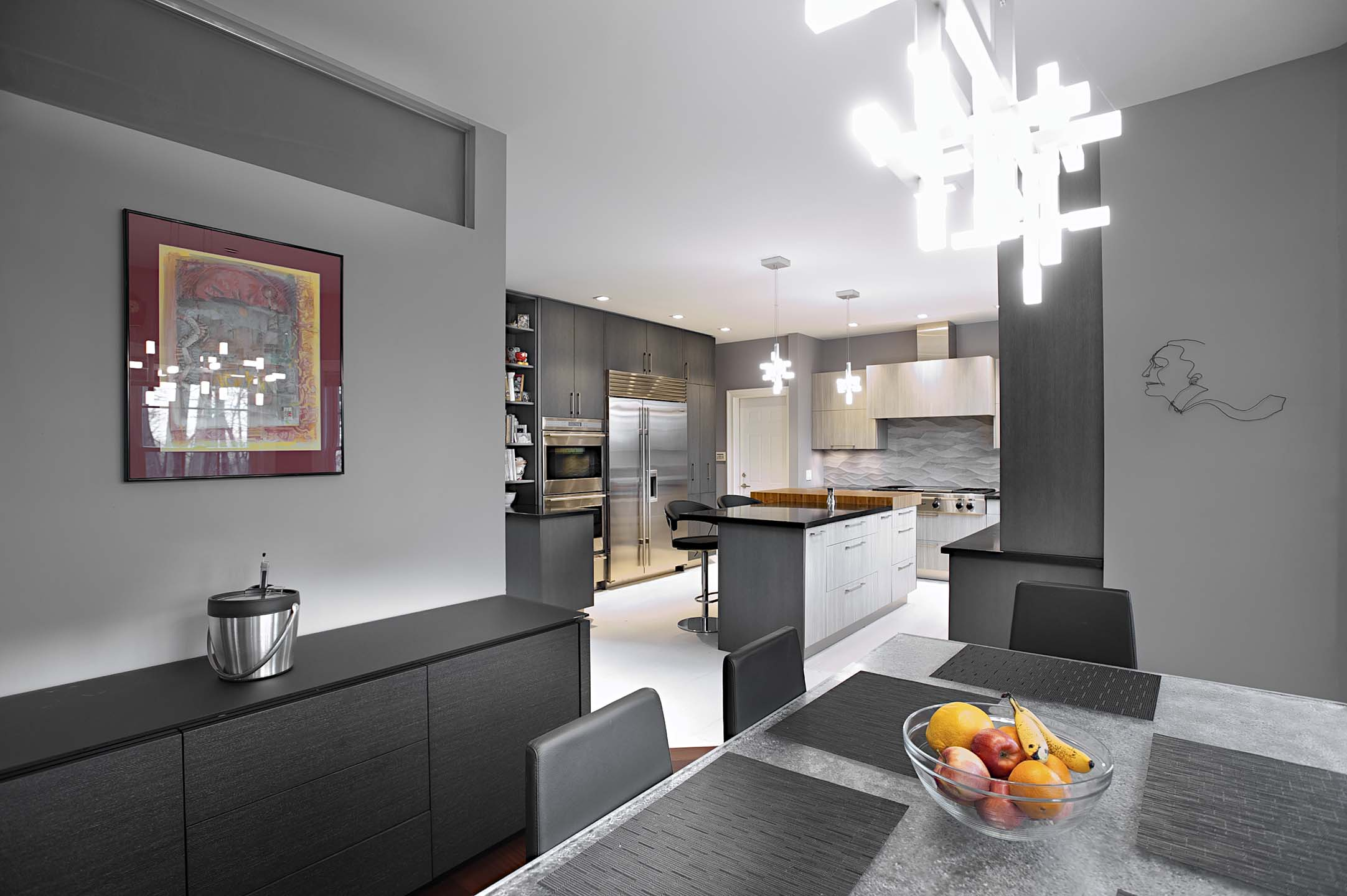 modern sleek joan bigg kitchen designer fairfield county ct contemporary kitchen with grothouse butcher block rockland county ny
