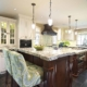 classic kitchen with Kountry Kraft Cabinetry by joan bigg kitchen designer north salem ny