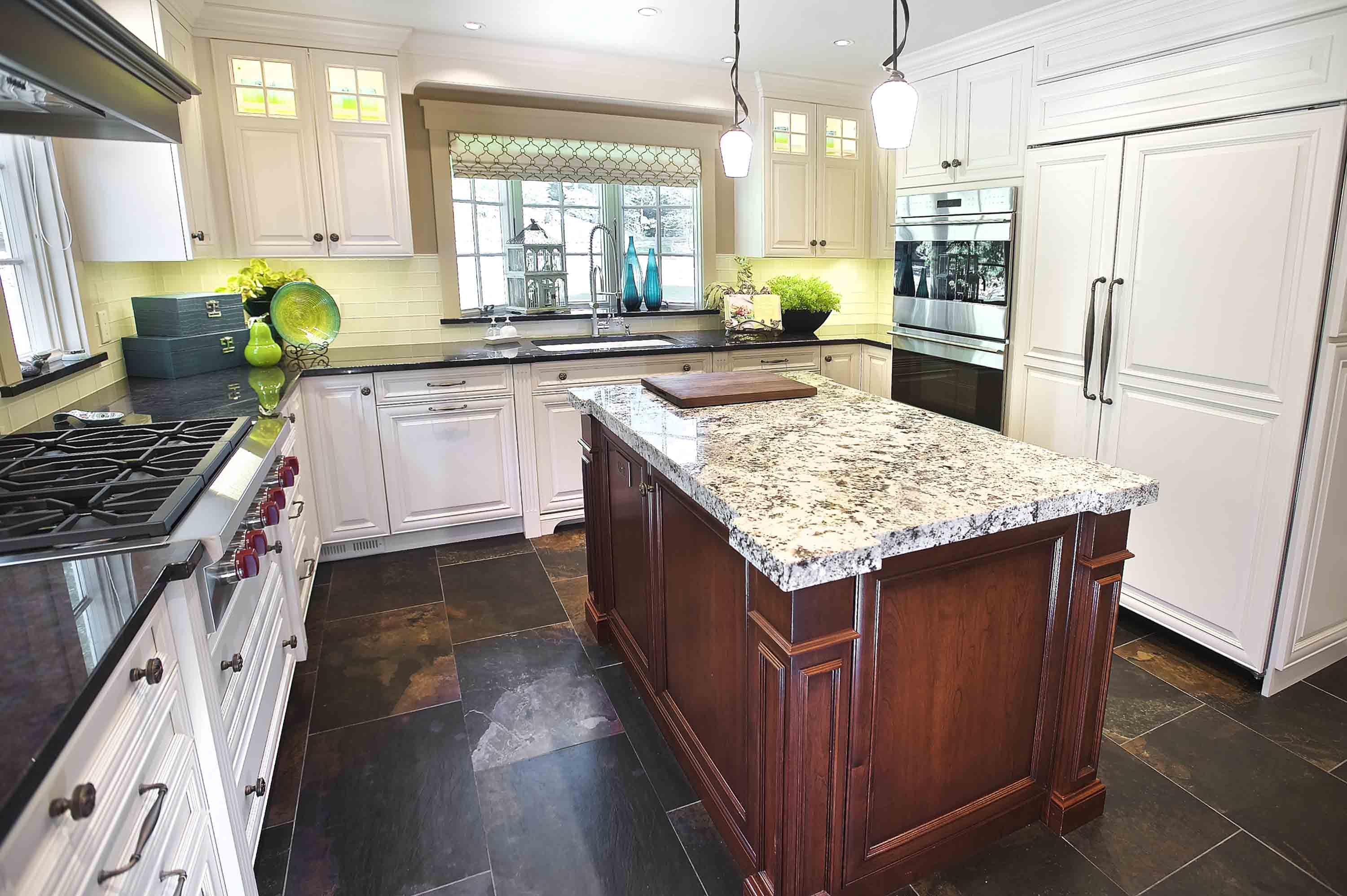 classic kitchen designed by Joan Bigg kitchen choreography kitchen design westchester ny