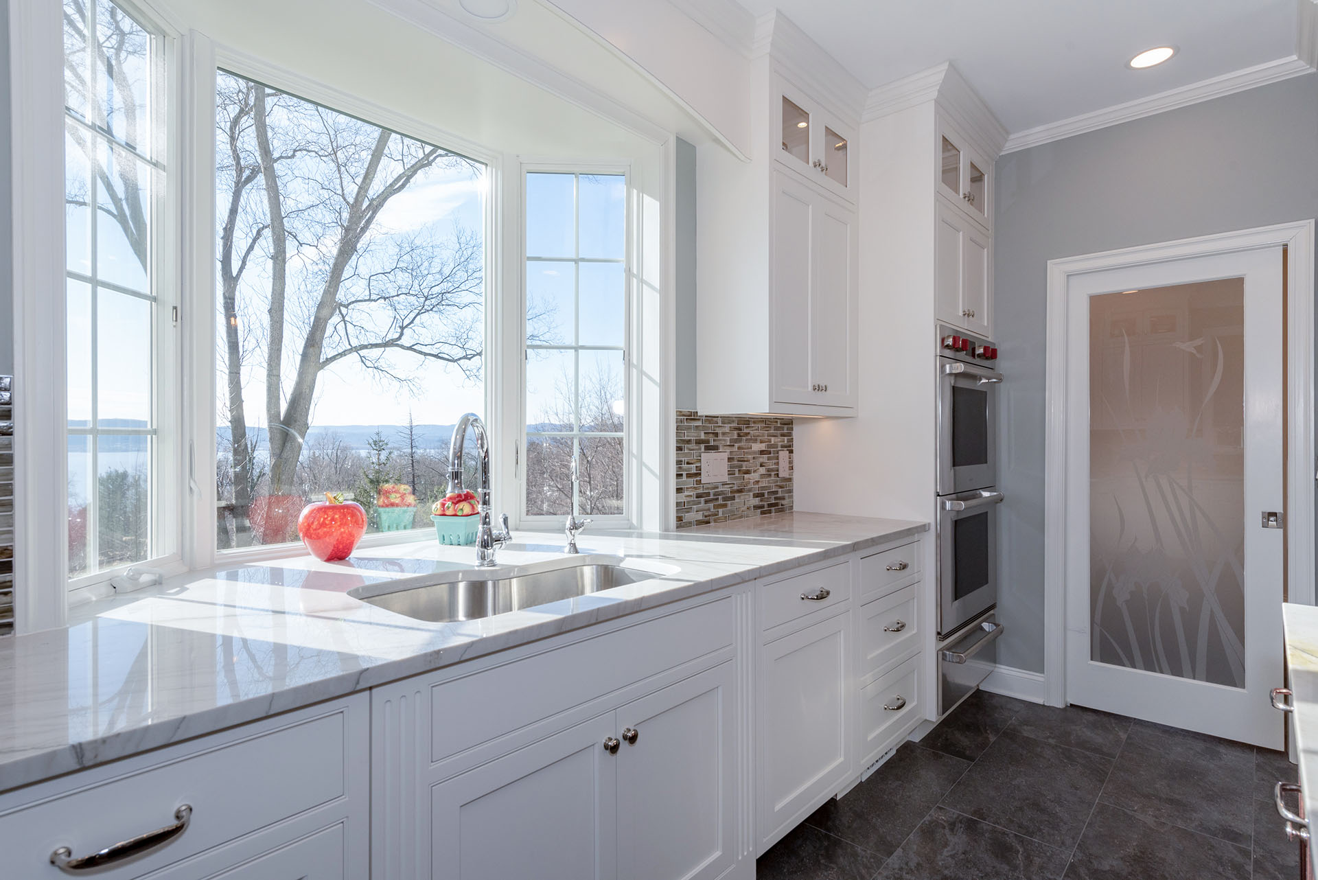 kitchen designed by Joan Bigg indoor and outdoor kitchen design fairfield county ct
