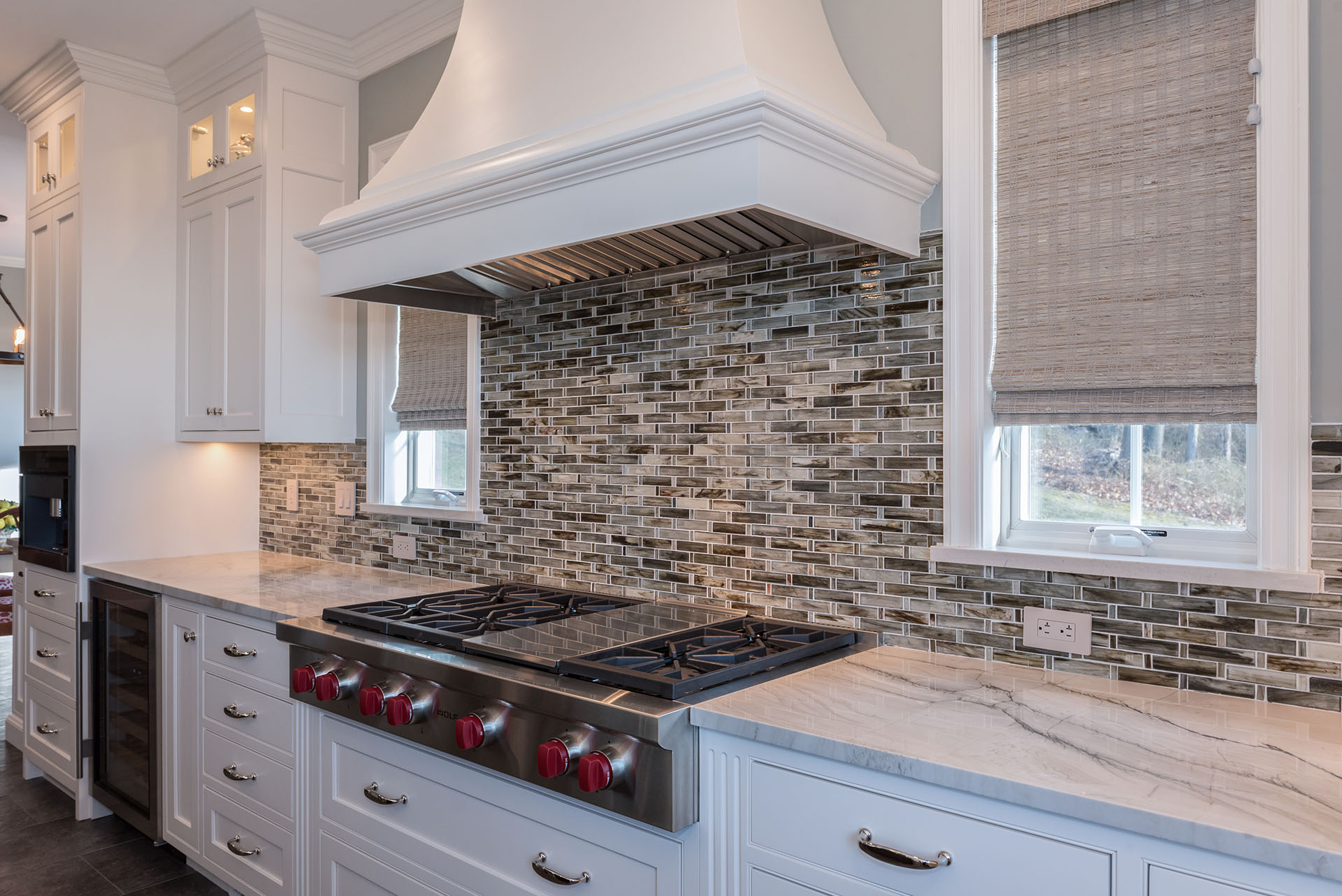 kitchen designed by Joan Bigg indoor and outdoor kitchen design westchester ny
