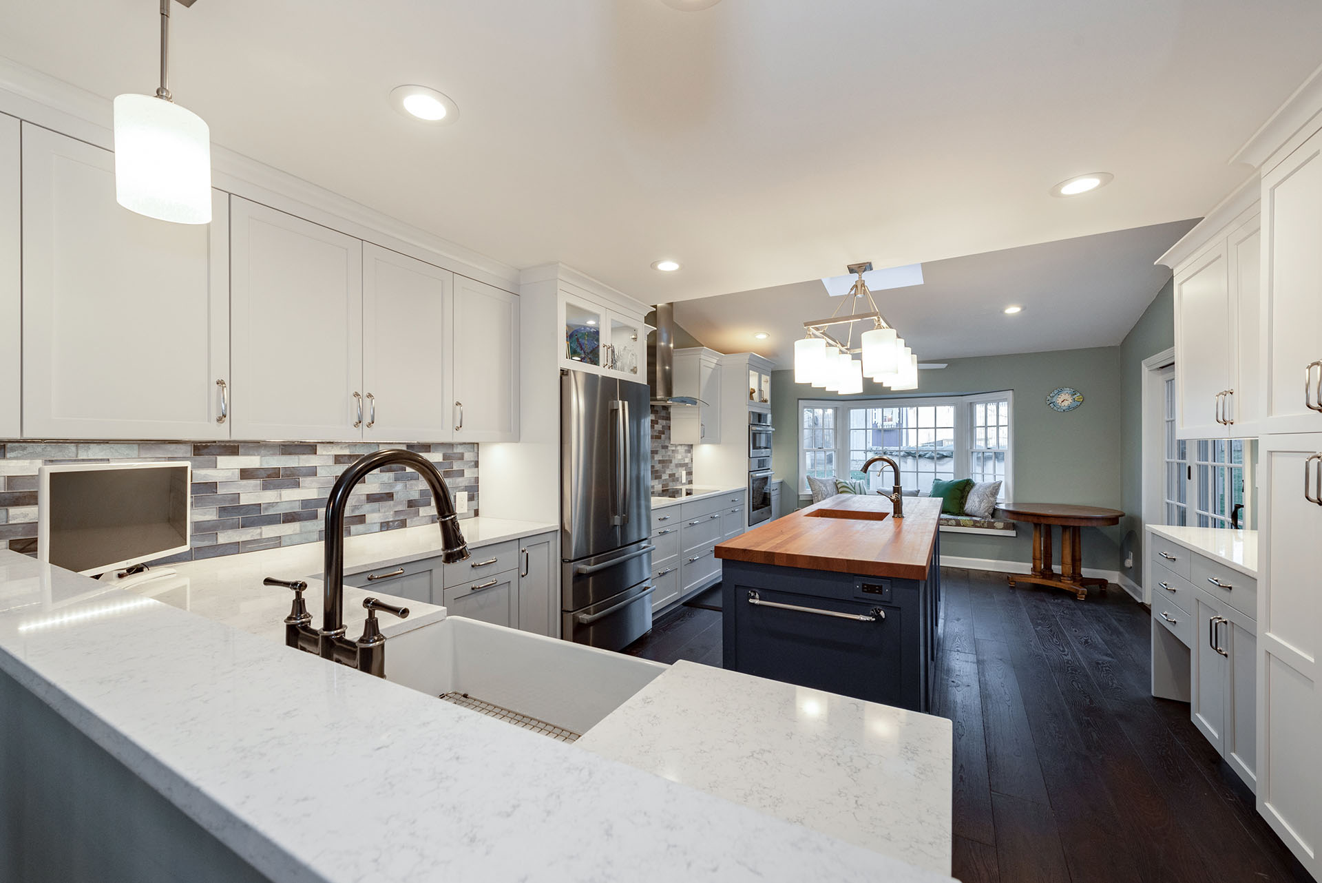 joan bigg kitchen design contemporary farmhouse kitchen westchester ny