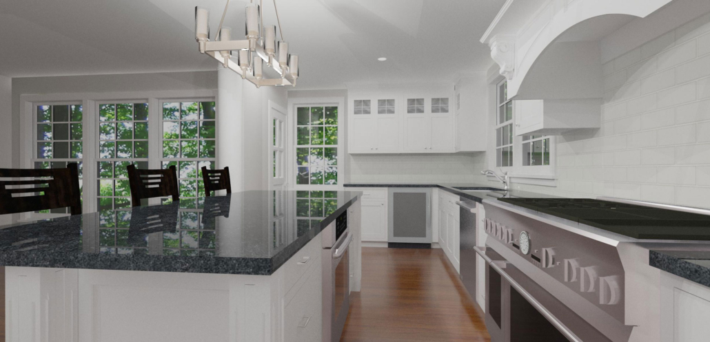 modern kitchen rendering joan bigg kitchen designer north salem ny