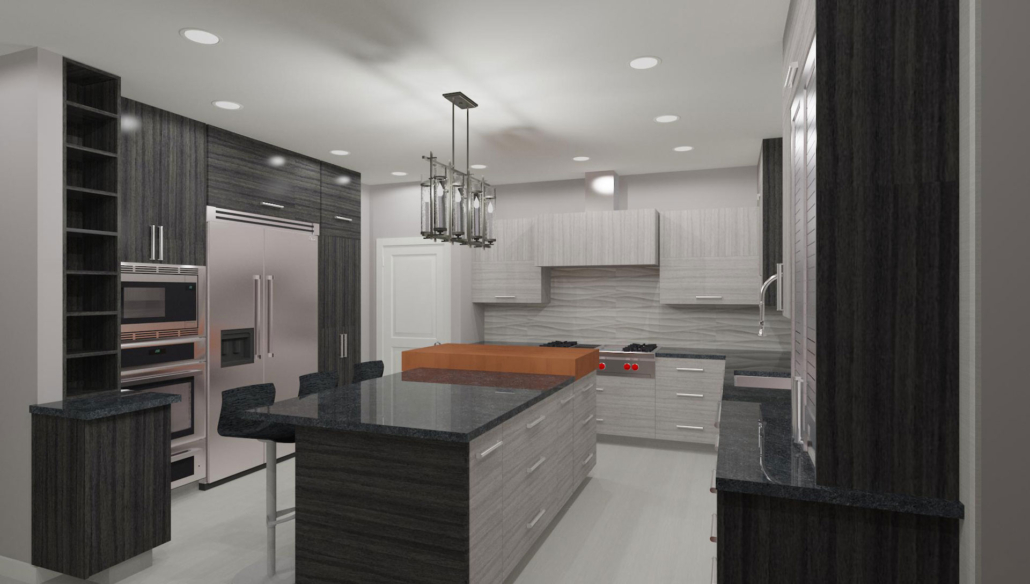 modern indoor kitchen design rendering joan bigg kitchen design ny metro area